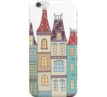 European houses in amsterdam iPhone Case/Skin