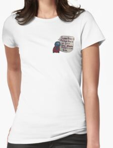 Sometimes.. Womens Fitted T-Shirt