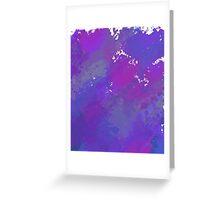 Splatter Paint Greeting Card