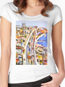 Morning rush Women's Fitted Scoop T-Shirt