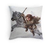 Rickon Stark post ADWD Throw Pillow