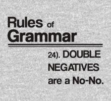 Double Negatives No-No Kids Clothes