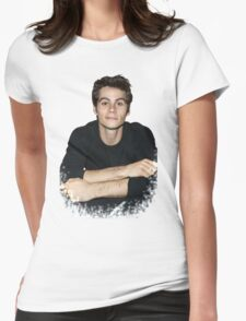 Dylan O'Brien Womens Fitted T-Shirt
