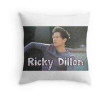 Ricky Dillon clouds Throw Pillow