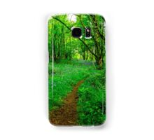 Footpath through the Woods Samsung Galaxy Case/Skin