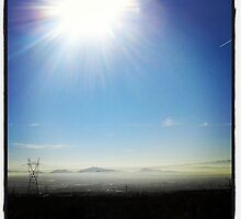 over view of inland empire california by jorgemdo