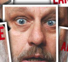 The Real of Slavoj Zizek Sticker