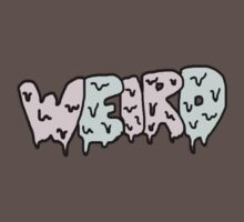 Weird Typography Kids Clothes