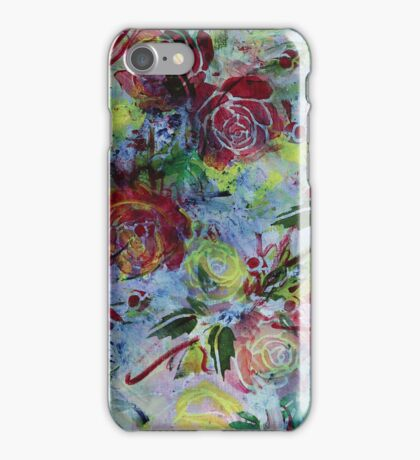 Chambray Blooms iPhone Case/Skin