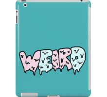 Weird Typography iPad Case/Skin