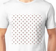 Watermelon Slices in Watercolors on White Unisex T-Shirt