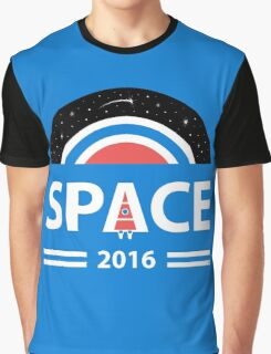 Vote For Space Graphic T-Shirt