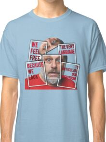 The Real of Slavoj Zizek Classic T-Shirt