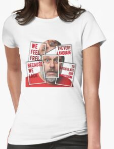 The Real of Slavoj Zizek Womens Fitted T-Shirt