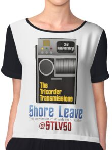 The Tricorder Transmissions - Shore Leave STLV50 Chiffon Top