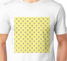 Watermelon Slices in Watercolors on Lemon Yellow Unisex T-Shirt