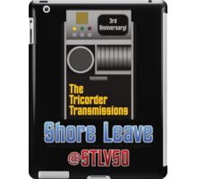 The Tricorder Transmissions - Shore Leave STLV50 iPad Case/Skin