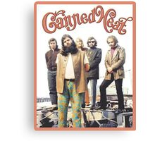 Canned Heat Canvas Print