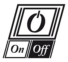 Schalter On Off Power Symbol by Style-O-Mat