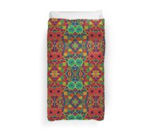 Psychedelic Abstract colourful work 232(Tile) Duvet Cover