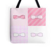 Pink Bows Tote Bag
