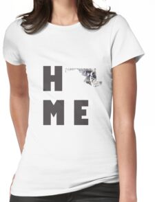"""Maryland """"HOME"""" Womens Fitted T-Shirt"""