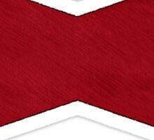 °MANGA° Dragon Ball Red Ribbon Denim Sticker