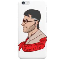 Team Fortess RED Medic Doctor Assisted Homicide iPhone Case/Skin