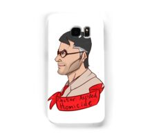 Team Fortess RED Medic Doctor Assisted Homicide Samsung Galaxy Case/Skin