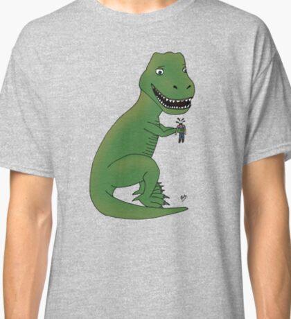 Happy T-Rex Classic T-Shirt