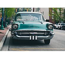1957 Chevrolet Sedan  Photographic Print