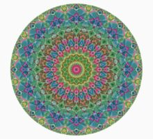 Geometric Mandala Kids Tee