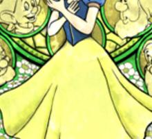 Snow White Kingdom Hearts Princess Sticker