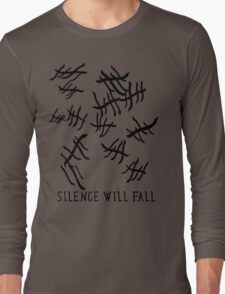 Silence Will Fall | Doctor Who Long Sleeve T-Shirt