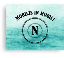 Mobilis in Mobili - Captain Nemo - Nautilus Canvas Print