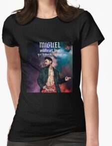 MIGUEL - wildheart tour Womens Fitted T-Shirt