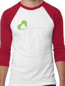 Rancor Preservation Society - Brown Men's Baseball ¾ T-Shirt