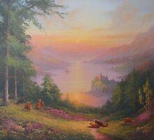 Urquhart Castle Loch Ness by Raymond Gilronan