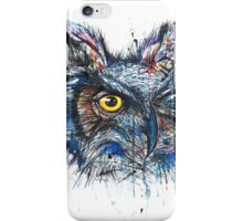 'Owl Insanity' 2014 (Full Image) iPhone Case/Skin