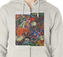 The Complete Picture Zipped Hoodie