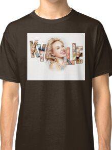 Kylie Minogue - Portrait Art Tribute Classic T-Shirt