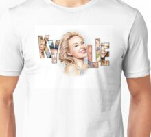 Kylie Minogue - Portrait Art Tribute Unisex T-Shirt
