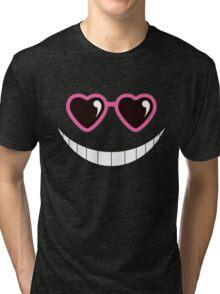 Koro-Sensei Sunglasses Tri-blend T-Shirt