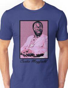 Curtis Mayfield Purple Unisex T-Shirt