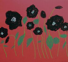 Black Poppies by George Hunter