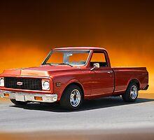 1971 Chevrolet C10 Pickup Truck by DaveKoontz