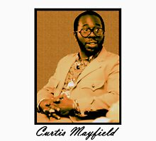 Curtis Mayfield Orange Unisex T-Shirt