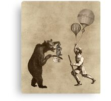 The Magician Bear Canvas Print