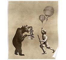 The Magician Bear Poster