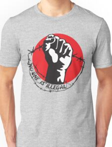 No One Is Illegal Unisex T-Shirt